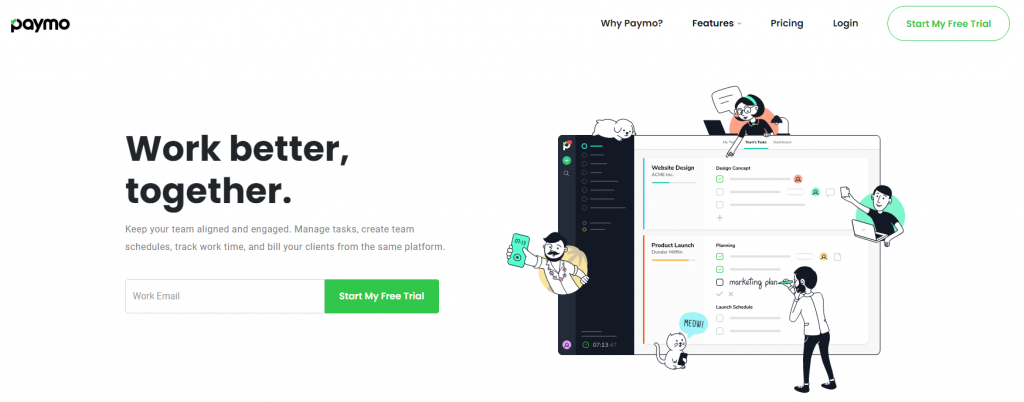 paymo project management tool